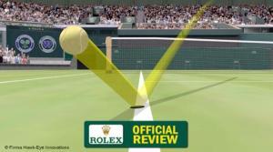 Il falco del tennis.