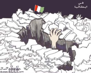 L'Italia che sprofonda.